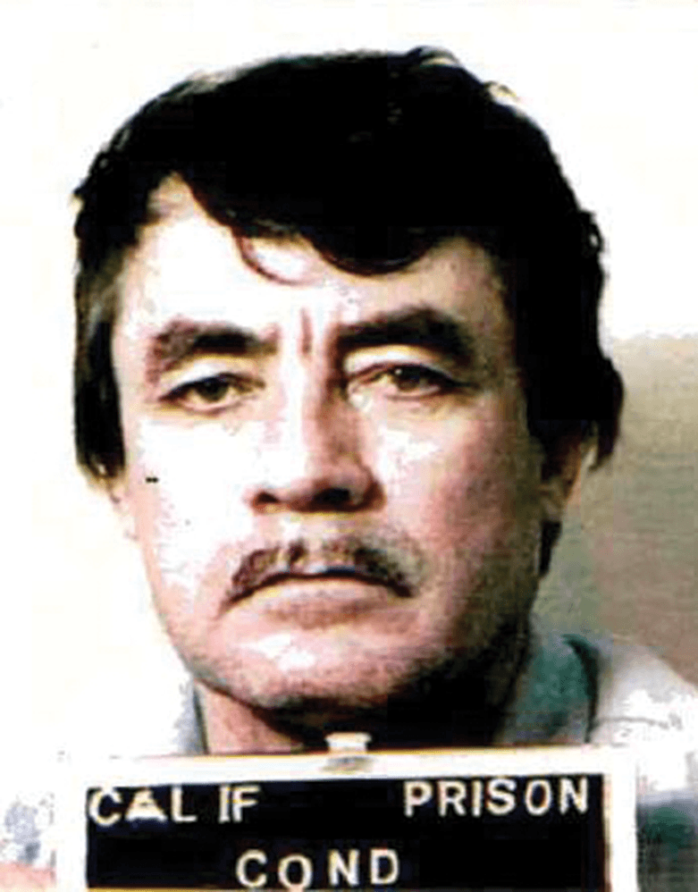 The ID photos of Vicente Benavides throughout his stay in Death Row