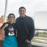 Tina Curiel-Allen with Daniel Mendoza