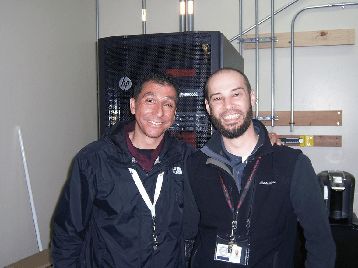 Tulio Cardozo with Jon Gripshover