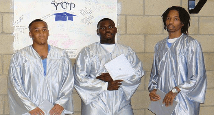 Valley State Prison holds inaugural YOP graduation