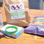 Items donated by Walkenhorst 's for the Day of Peace