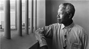 The late President of South Africa, Nelson Mandela