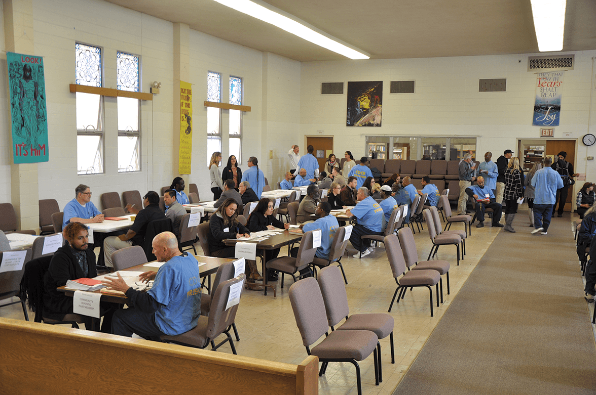 Prospect employees interviewing with potential employers