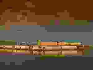 prison, water front, San Quentin, San Francisco Bay,