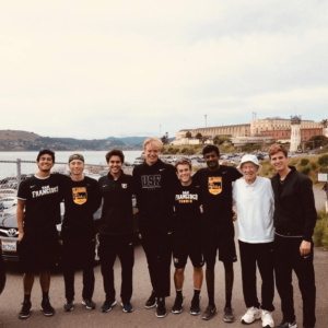 University of San Francisco visits SQ's Tennis Team
