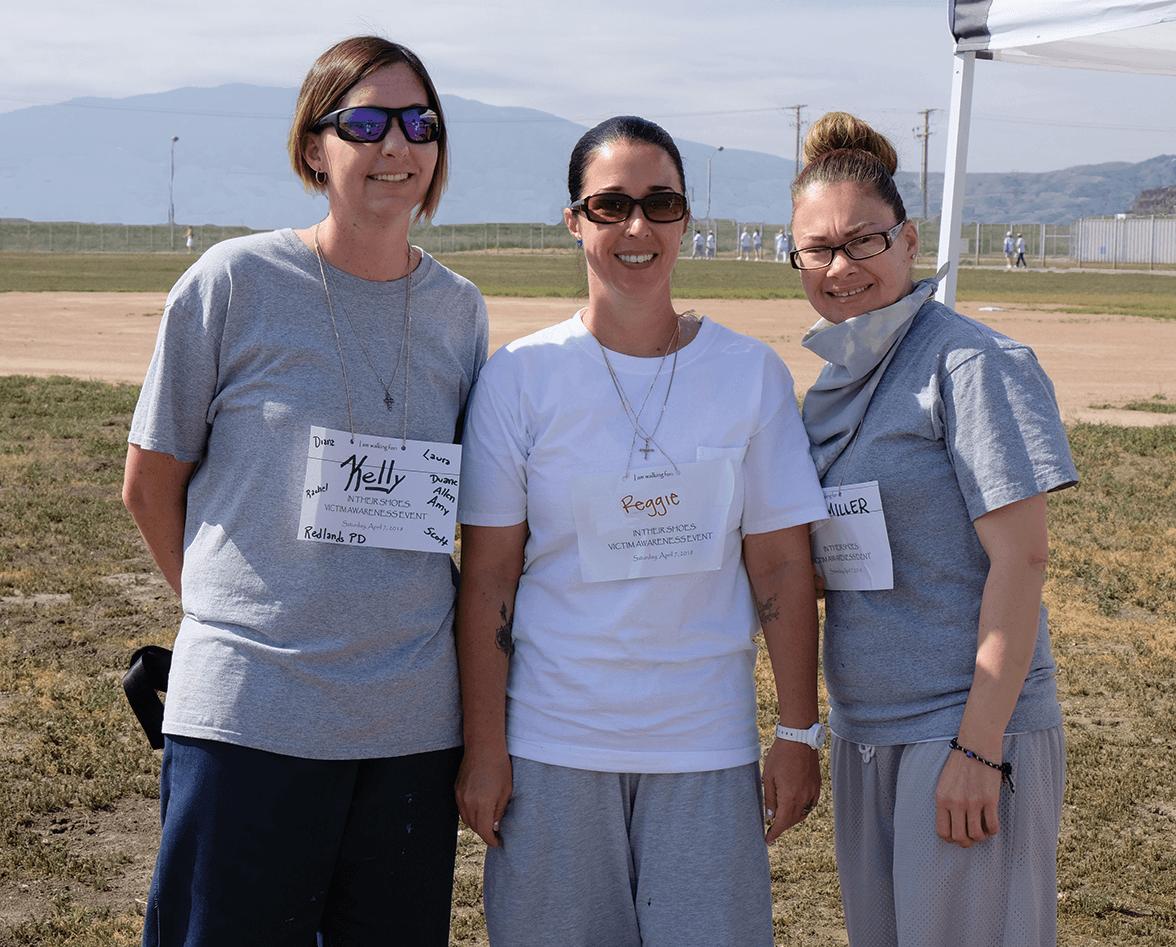 Kinzi Noordman, Kelly Flynn and Bernadette Osika