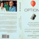 Author Sheryl Sandberg and co-writer Adam Grant