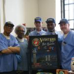 San Quentin Veterans Tony Burch, Adam Sinegal, Stanley Baer, Garvin Robinson and Gary Cooper