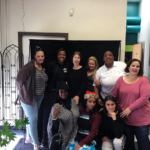 """and the long lines of women who were always there to vis- it men who were incarcerated and show them love and sup- port, but when I was impris- oned for almost two decades, the few visits I received came from women family, friends and outside organizational supporters. The reality is that most currently and formerly incarcerated women do not experience an equal level of commitment, support and consideration as our male counterparts."""" Most current penal polices neither respect nor promote the continuance of family and interpersonal bonds while women are incarcerated. As a result, women experience a lot more shame, blame and loss of prior identities due to the numerous roles they once played in the lives of those around them being disrupted by incarceration. All of these combined fac- tors create greater hurdles to reintegration and the reestab- lishment of a woman's place in the community when she returns home. Most often, women cannot easily re- sume their previous roles and struggle to receive adequate enough support to create new identities in the community as returning citizens. A study by the U.S. De- partment of Health and Hu- man Services on women returning home from prison noted that women need to be supported with relational models in reintegration that are sensitive to their racial, ethnic and cultural back- Photo courtesy of LSPC A guest enjoying the event Women having a discussion at the event about the trials of reentry Photo courtesy of LSPC grounds. They also need programs that promote their self-worth and provide role models and mentors to help them navigate their reinte- gration and reentry. Organizations like LSPC, which was founded in 1978 to support the continued re- lationships of incarcerated parents and children, and the California Coalition for Women Prisoners (CCWP), founded in 1995 to address institutional abuse and sys- temic conditions women face while incarcerated, are work- ing to develop programs and models for reentry services that ref"""