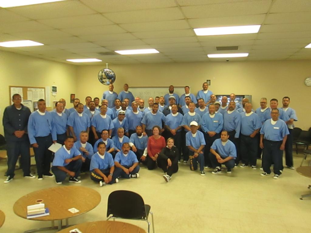 The men at avenal State Prison program participants