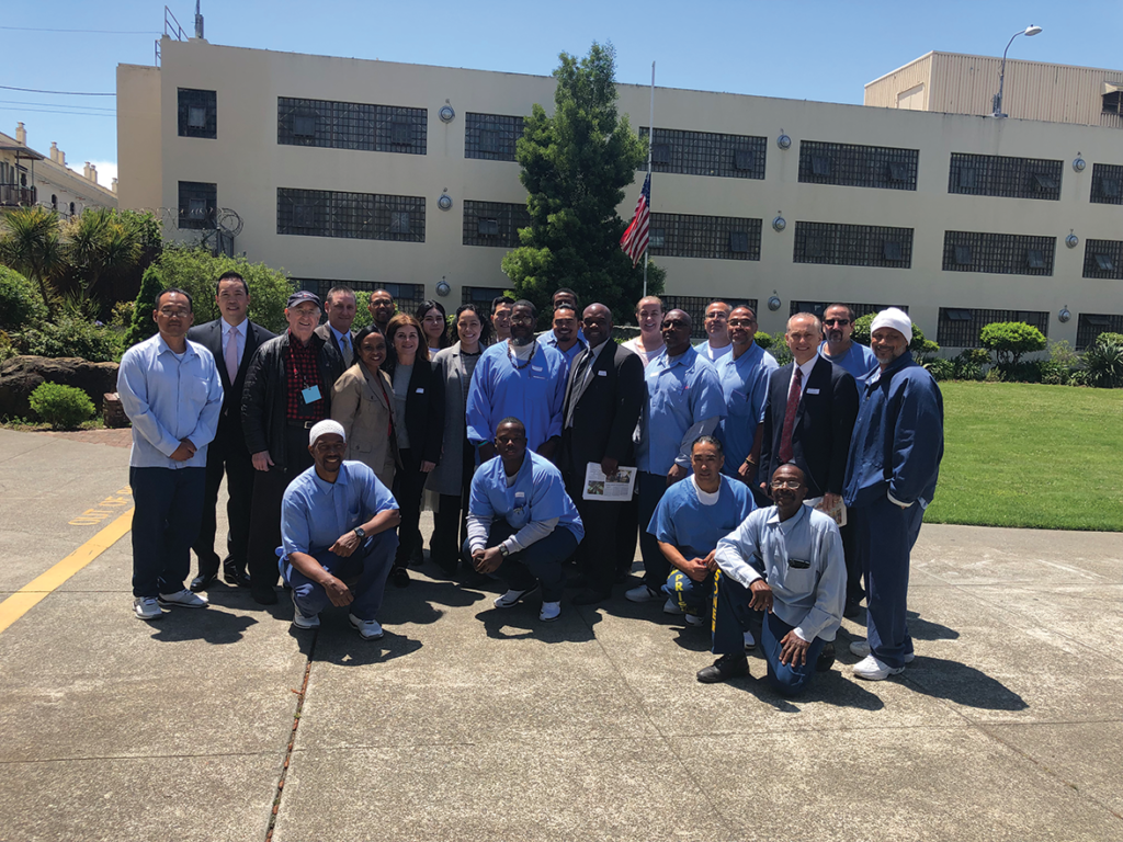 San Quentin participants, McNamara, San Francisco Police Department and Office of Cannabis staff