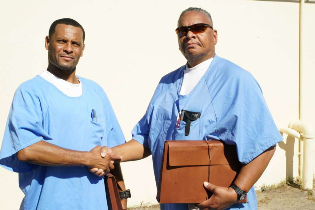 Petitioner Tijue Mcghee with his legal guide Rudy Wilkins