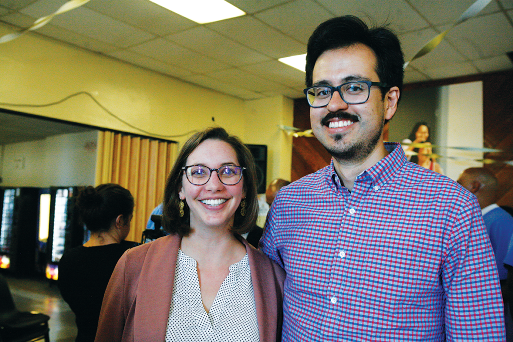 Profesores de PUP Laura Wagner and Paco Brito
