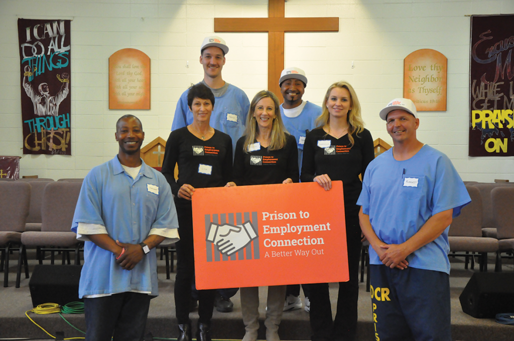 PEC staff and inmate volunteers