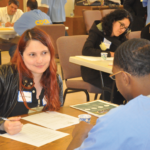 Employer giving an inmate a interview