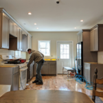Ex prisoner working on renovation