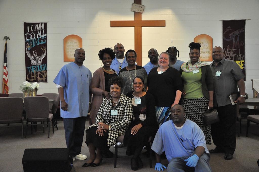 New Faith Cathederal with Andress Yancy, Darnell Hill, Leonard Walken, Greg Dixon and Markee Carter
