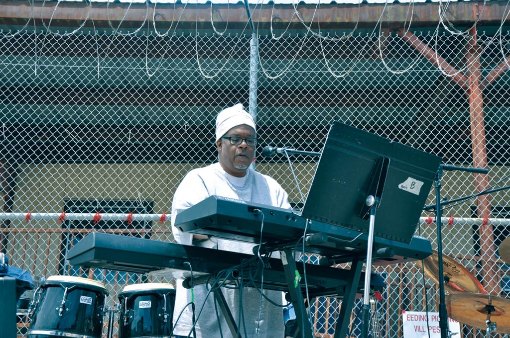 "Wilbur ""Rico"" Rodgers on keyboard"