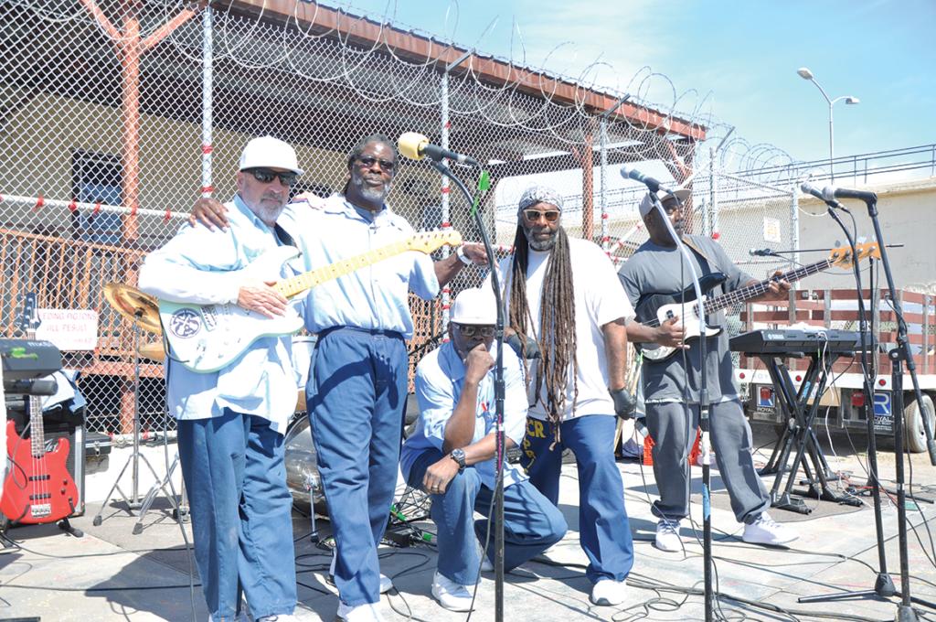 left to right: Lee Jaspar, Jeff Atkins, Paul Comaeux, Charles Ross and Leonard Walker