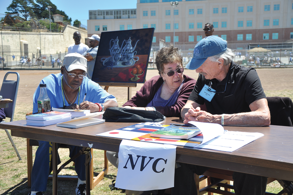 Members from the Non-Violent Communication table