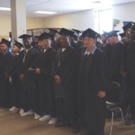 Graduating class of Robert E. Burton and Coastline, Feather River and Lassen Community College